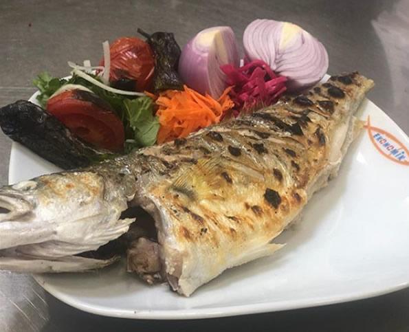 lüferızgaraNevşehir'de ki Balık fiyatları